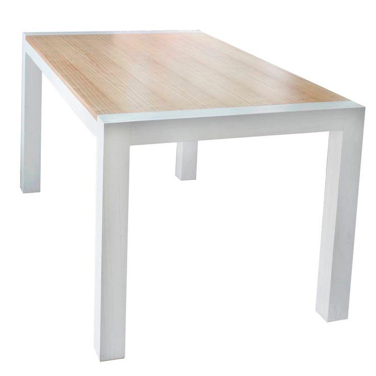 mesa de comedor - madera laqueada
