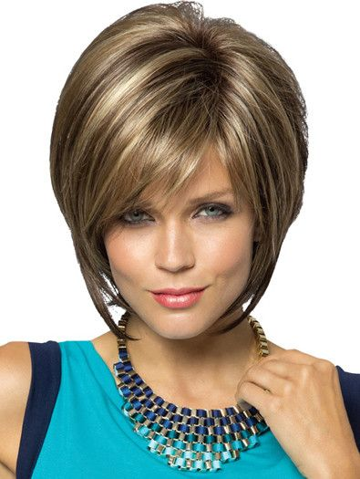 REESE MONO PART by Noriko on Sale | Buy Online, Wigs Ship Fast | The style everyone loves featuring a Monofilament part. Sassy tousled layered bob with bangs. Reese is so