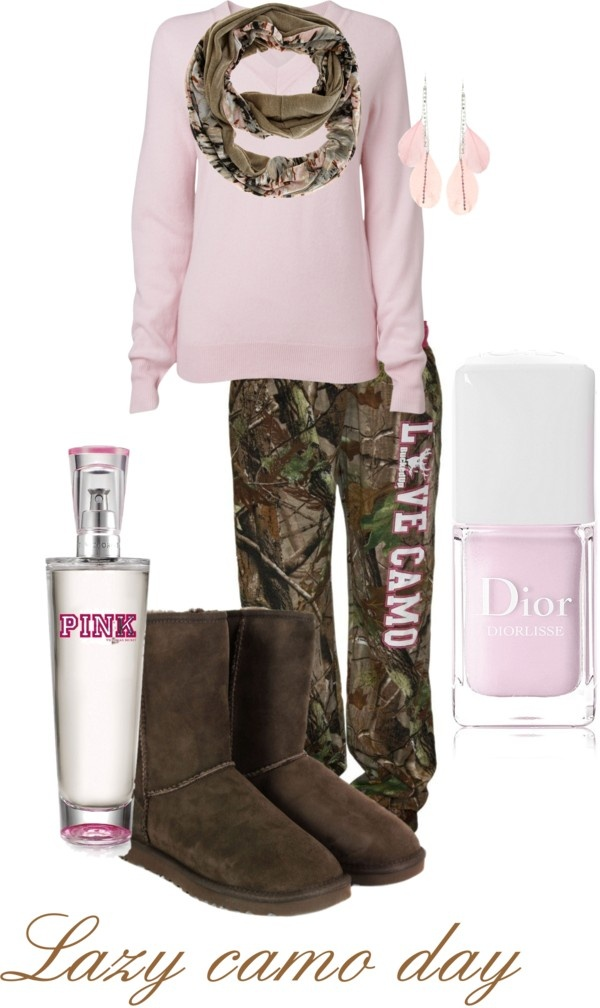 """""""Lazy camo day"""" by brenna-bunting on Polyvore"""