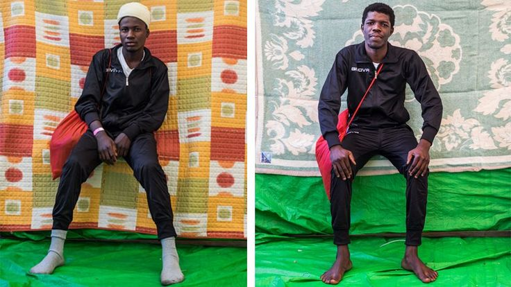 Portraits of a migrant https://tmbw.news/portraits-of-a-migrant  In the early hours of the morning, while the sea is clear, smugglers in Libya send off boats full of migrants that reach international waters by about 08:00.Photographer Marcus Drinkwater spent a month onboard the Golfo Azzurro, a vessel that intercepts these boats and takes their passengers safely on board.Beginning with a desire to give a sense of individuality to these migrants, Drinkwater took a series of posed portraits of…