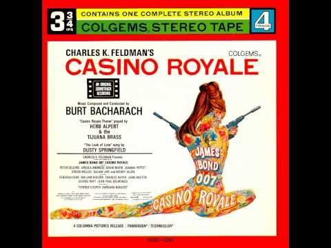 ▶ this is my favorite song.  Herb Alpert & the Tijuana Brass - Casino Royale (Main Title) (Burt Bacharach) - YouTube