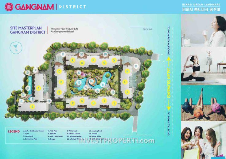 Gangnam District Bekasi Master Plan