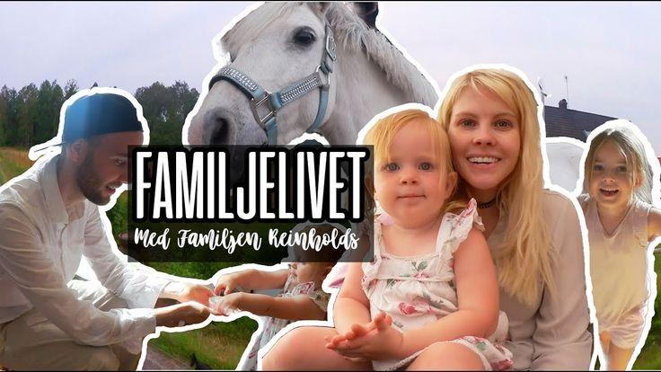 Testar på familjelivet med Familjen Reinhold - Grillning och hästar| VLOGG #64  Emma och Konrad åker hem till Familjen Reinhold för att bara hänga och ha det gött! Det ni kommer få se i dagens vlogg är när vi kollar hur deras hus ser ut vi kommer grilla mysa och leka med hästen Shaggy!  Kolla in Familjen Reinholds vlogg-kanal: https://www.youtube.com/user/jenniferreinhold  Musik av: http://ift.tt/27oKBvG   Prenumerera på oss för galna vlogg-äventyr från vardag till våra resor. Vi kommer även…