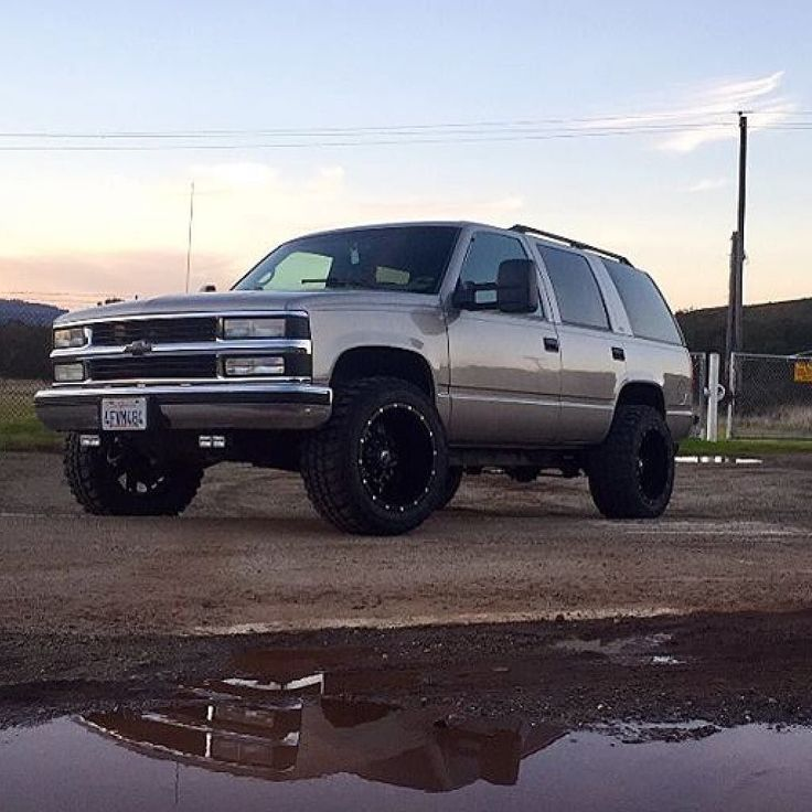 259 Best Chevy Tahoe OBS 1995-2000 Images On Pinterest
