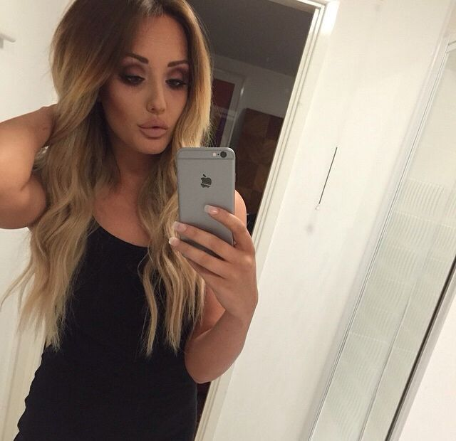 Charlotte Crosby makeup