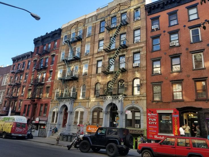 The original Physical    Graffiti album cover building ! 96 and 98 St Mark's Place