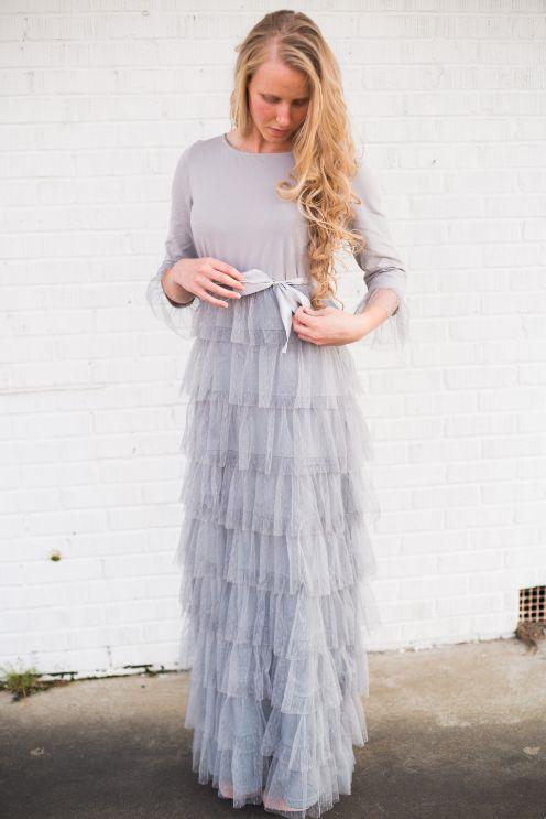 Modest Bridesmaid dress option? | Dainty Jewell's