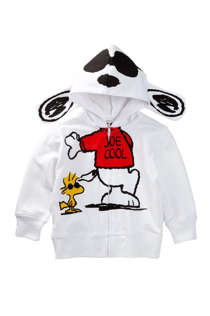 Snoopy Joe Cool Costume Hoodie (Toddler Boys) by FREEZE on @nordstrom_rack