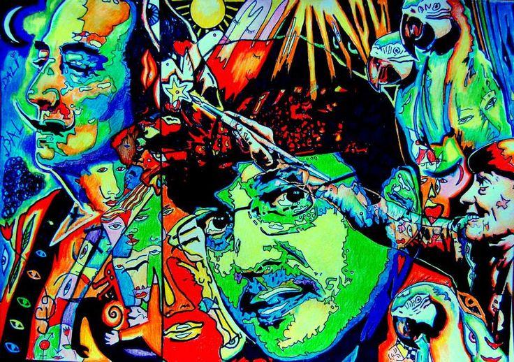 Mario Blanco my favorite painter
