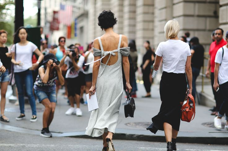 Bras, Bye: It's All About The Exposed Back Right Now #refinery29  http://www.refinery29.com/exposed-backs-fashion-trend#slide-4  Here, Yasmin Sewell shows off how she dips....