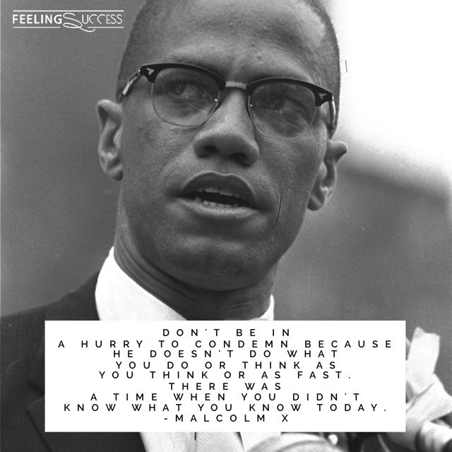 Malcolm X Quotes about Unity, Human Dignity & Thinking with an Open Mind. 🙌😊👌   More Malcolm X Quotes: https://www.feelingsuccess.com/malcolm-x-quotes/ 👍🙏