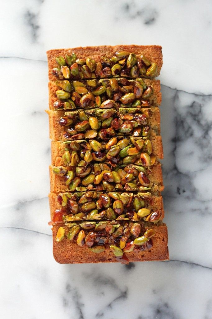Pistachio Pound Cake - This moist, pistachio packed pound cake is a stunner! And sure to be a new favorite!
