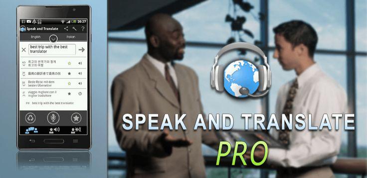 Translator Speak & Translate v2.5.0.5 (Unlocked)  Viernes 8 de Enero 2016.Por: Yomar Gonzalez | AndroidfastApk  Translator Speak & Translate v2.5.0.5 (Unlocked) Requisitos: 2.3 y arriba Descripción: Este traductor dará vuelta a su dispositivo móvil en un intérprete simultáneo que está siempre con usted.Hablar y Traducir función de identificador de llamadas para la identificación de número desconocido. Esta función se mostrará la información de llamadas durante / después de las llamadas y se…