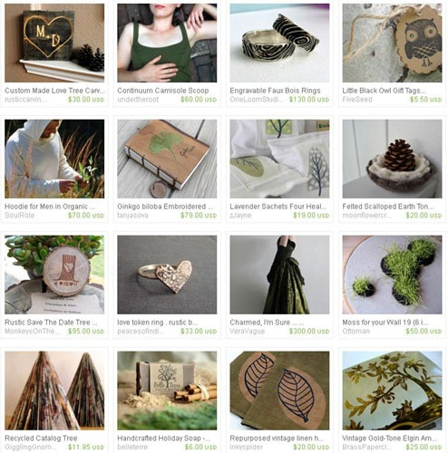 {Tuesday Treasury} A Different Kind of Green by Lorigami  #ecoetsy: Eco Treasure, Lorigami Ecoetsi, Tuesday Treasuri