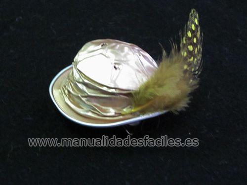 Broche sombrero de  Nespresso