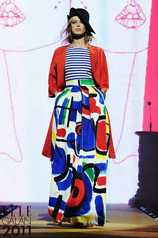 Abstract - Elle fashion show / Stylist: Liselotte Watkins