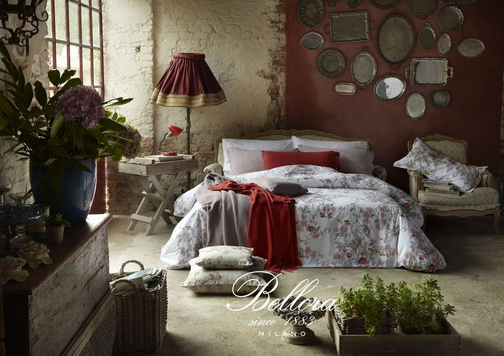 #bellora spring summer 2017. Royal Garden atmosphere. Red pomegranate and pink amethyst. Italian style