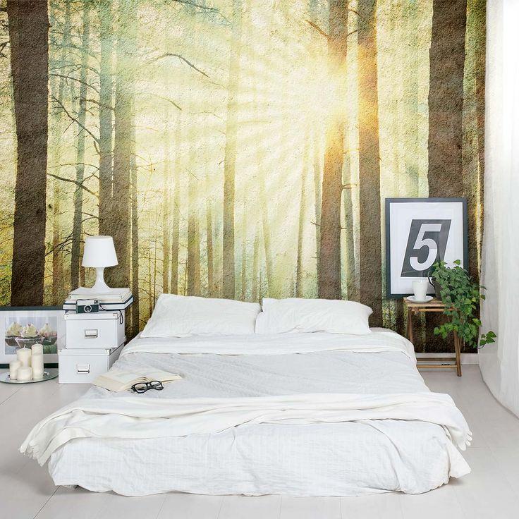 25+ beste ideeën over bos slaapkamer op pinterest - boom, Deco ideeën