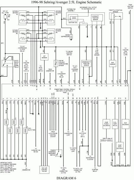 1998 Dodge Van Wiring Diagram Schematic