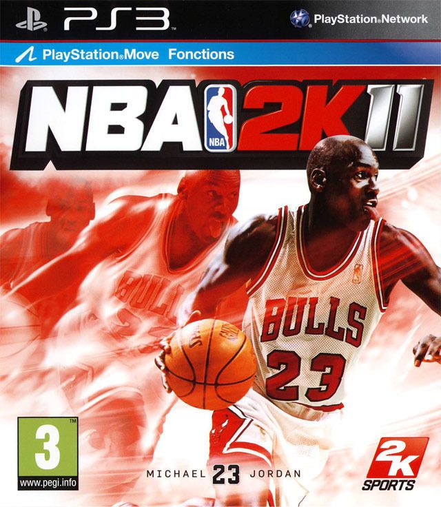 NBA 2K11 PlayStation 3 Basketball Video Game - FREE Int l Shipping!