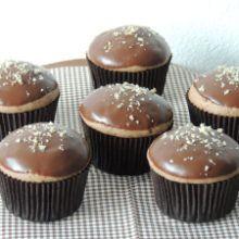 Perníkové muffinky plnené džemom