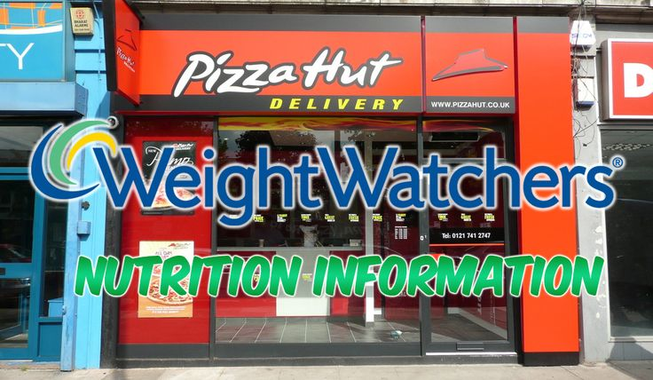 Pizza Hut Nutrition Information