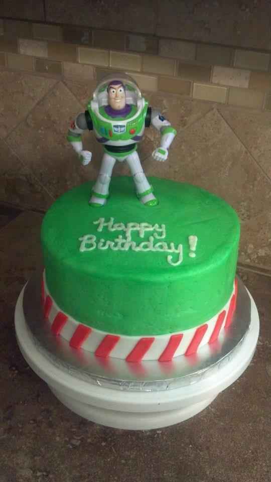 Easy Buzz Lightyear Cake