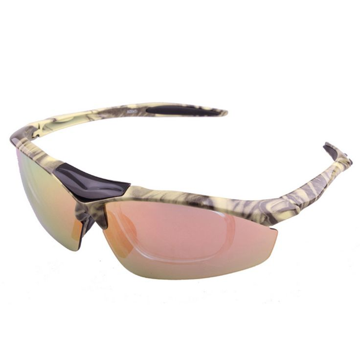Riding Polarized Glasses Sunglasses XQ-047 beige yellow