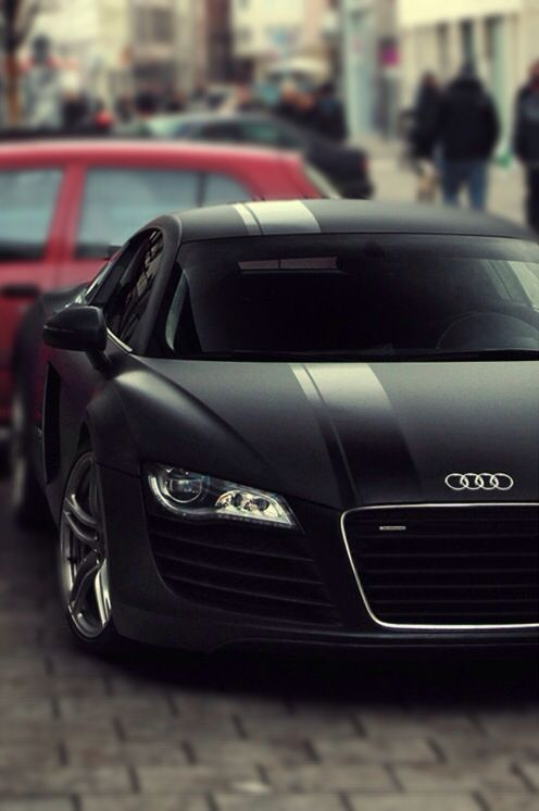 Audi R8 - Matt Black #audi #car #style New Hip Hop Beats Uploaded EVERY SINGLE DAY http://www.kidDyno.com