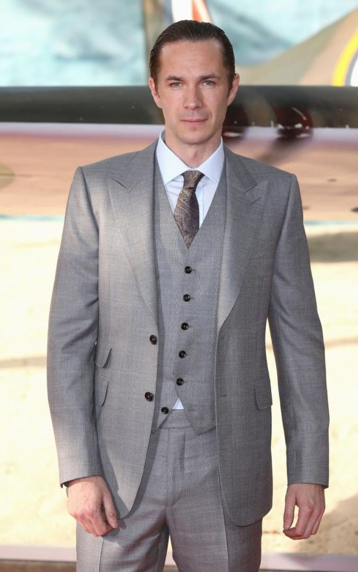 James D'Arcy at the Dunkirk premiere