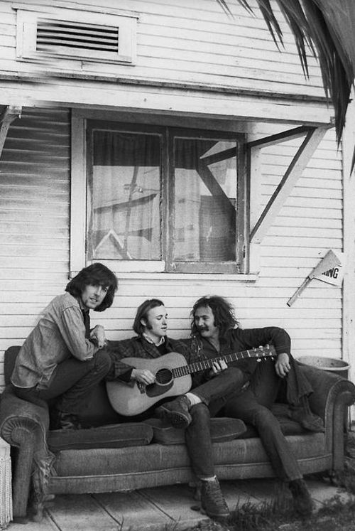 Graham Nash, Stephen Stills  David Crosby: Los Angeles, 1969...Another Henry Diltz gem