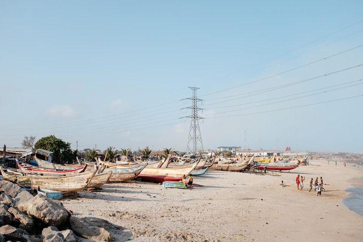 Tema Fishing Port Beach