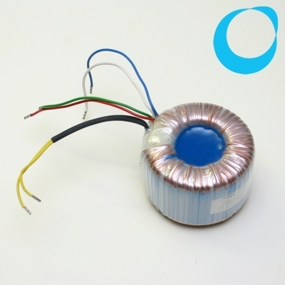 Ringkerntransformator transformer 230V - 2 x 12V