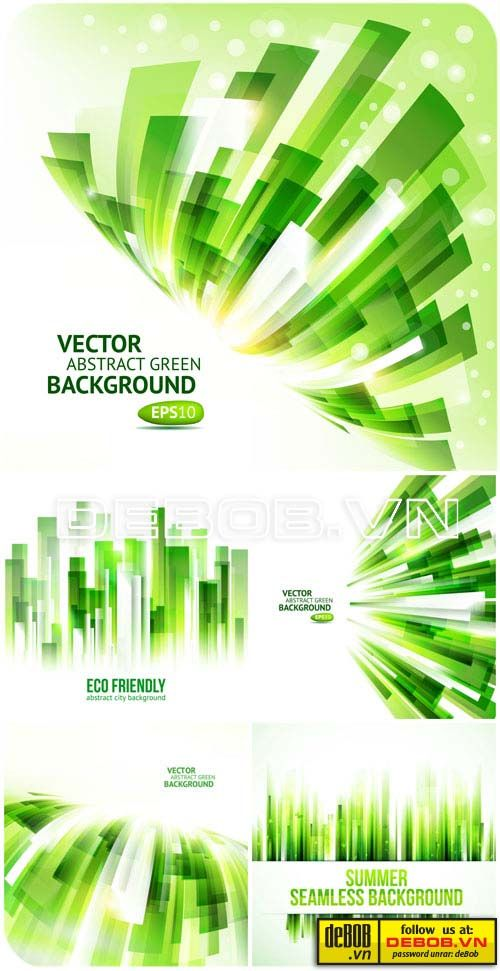 Abstract vector backgrounds, eco backgrounds