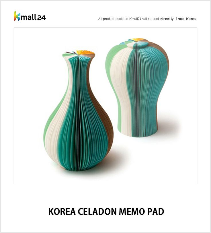 Bring Korean traditional beauty on your desk. ▶ Shop here : http://bit.ly/1JVZw3d Kmall24 ‪#‎MemoPad‬ ‪#‎HomeDeco‬ ‪#‎OfficeSupplies‬ ‪#‎Celadon‬