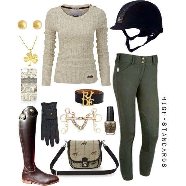 So into these gorgeous equestrian touches for the perfect preppy outfit!
