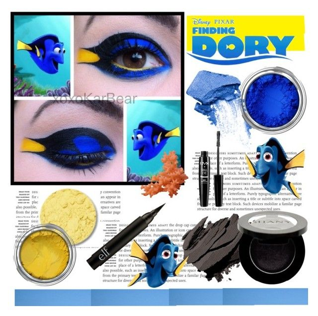 """Finding DORY MAKEUP"" by pink1princess ❤ liked on Polyvore featuring beauty, Designers Guild, NARS Cosmetics, Bobbi Brown Cosmetics, Shany and NYX"