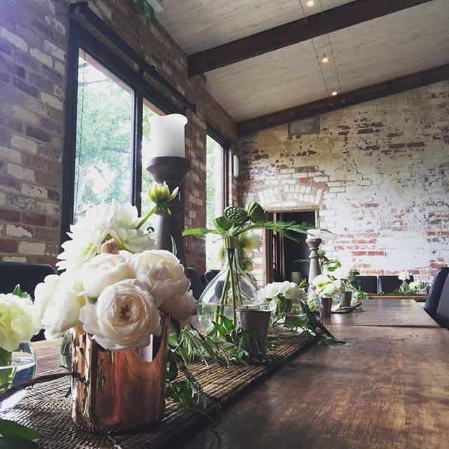 Carla and Daniel have been such a lovely, cruisey couple! Congratulations it's your wedding day!  @thestablesatstones #stonesoftheyarravalley #sassafraflowerdesign #weddingstylingmelbourne #weddingdetails