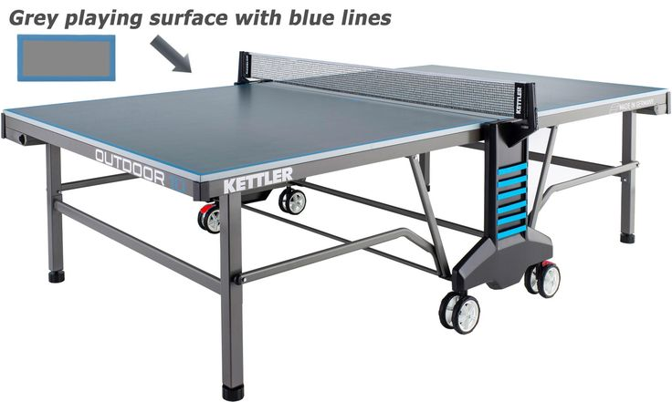 Kettler Classic Pro Folding Outdoor Table Tennis Table