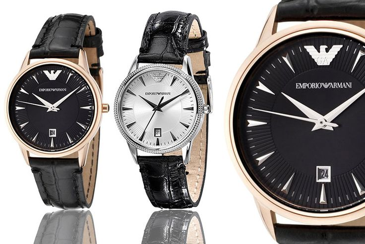 Buy Emporio Armani Ladies' Watch - 2 Designs! UK deal for just £99.00 £99 instead of £193 (from Wristy Business) for a ladies' Armani watch - save 49% BUY NOW for just £99.00