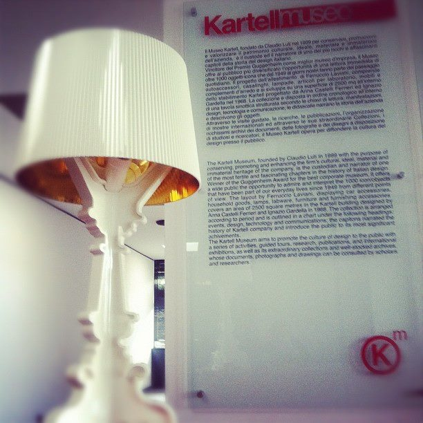 Bourgie by Ferruccio Laviani at Kartell Museum    available at Oikos