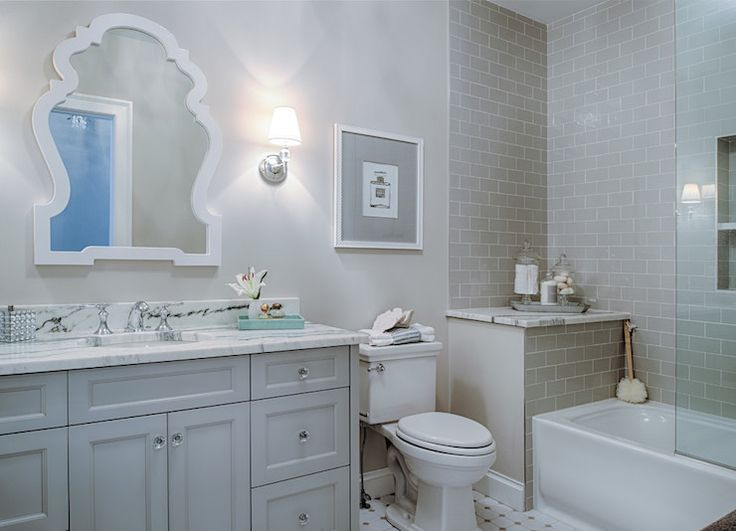 Bathroom Gray Subway Tile 296 best bathroom images on pinterest | bathroom ideas, bathroom