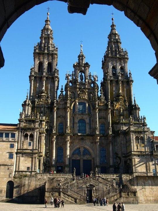 Catedral de Santiago de Compostela, destino final y/o punto de inicio del Camino de Santiago