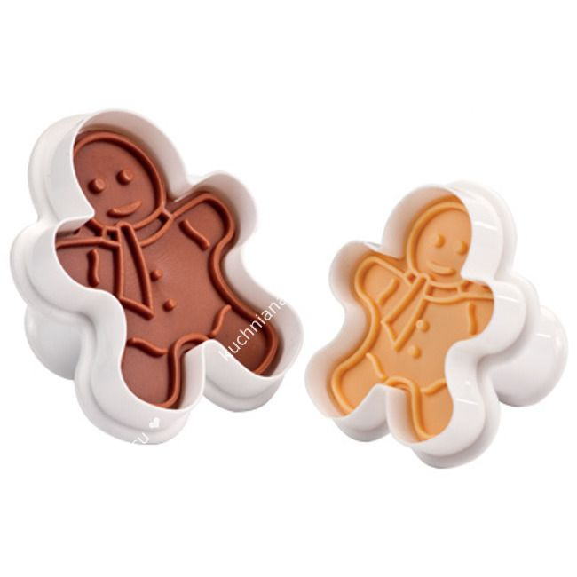 Wykrawacze do ciastek, stempelki ludzik - 2 szt   TESCOMA DELICIA