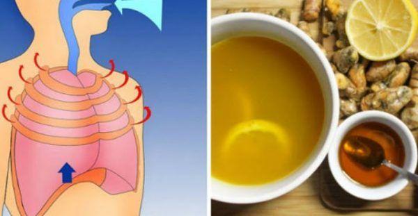Θεραπεύστε τον επίμονο βήχα ή την φλεγμονή των πνευμόνων με αυτή τη φυσική συνταγή..