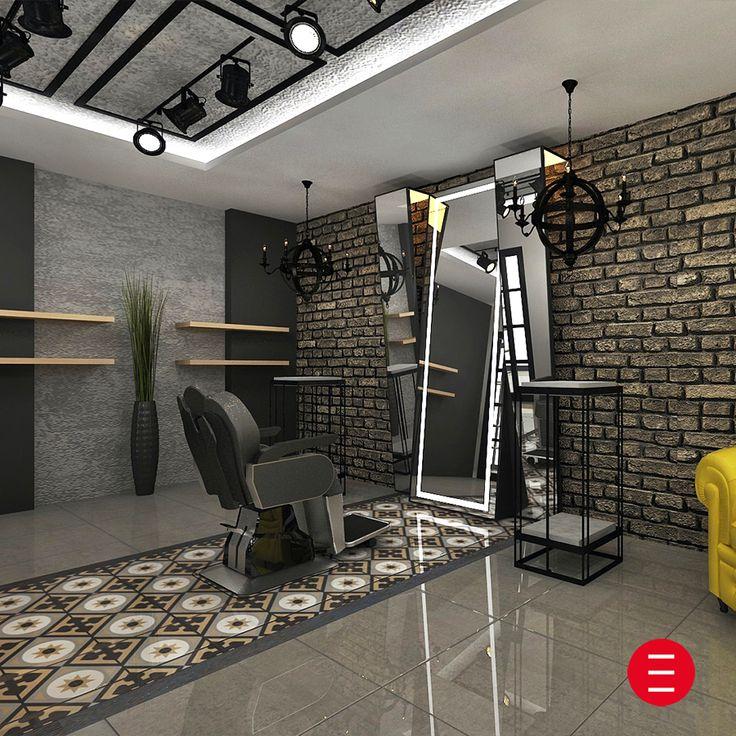 Yeni moda, kuaför salonu vip bölümü. www.alpeda.com