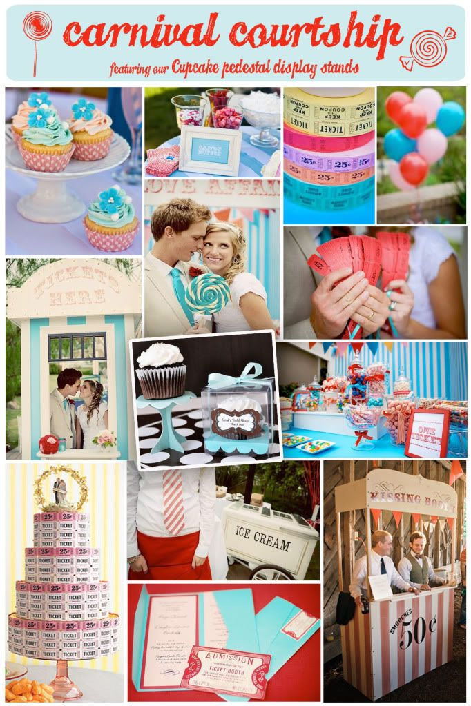 Vintage Circus Wedding Theme. Lots of Ideas for charming Carnival details