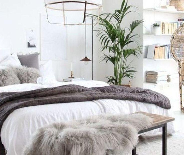 45+ amazing Scandinavian Bedroom Design For Simple Bedroom