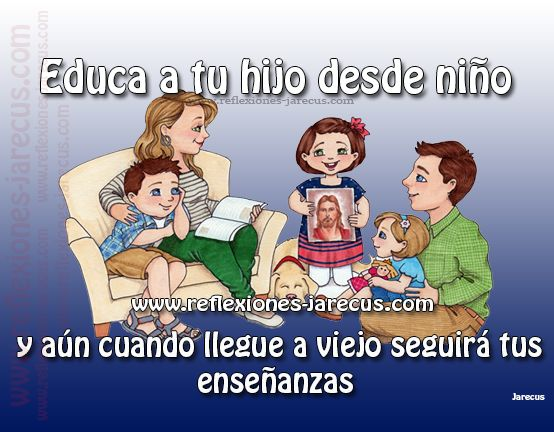 Educa a tu hijo desde niño