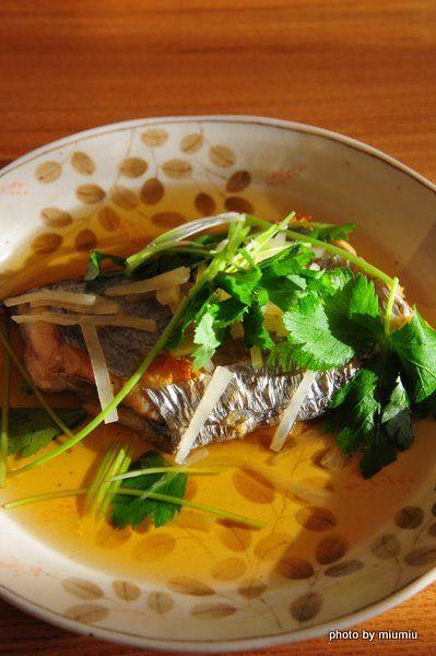 優しい味の煮汁で☆太刀魚の焼き浸し by miumiuさん | レシピブログ ...